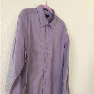 Marc Anthony Slim Fit Long Sleeve Shirt XXL New